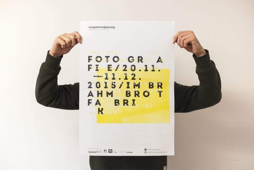 Galerie doppelverglasung — Corporate Identity / Poster / MAAANY Werbeagentur Krefeld