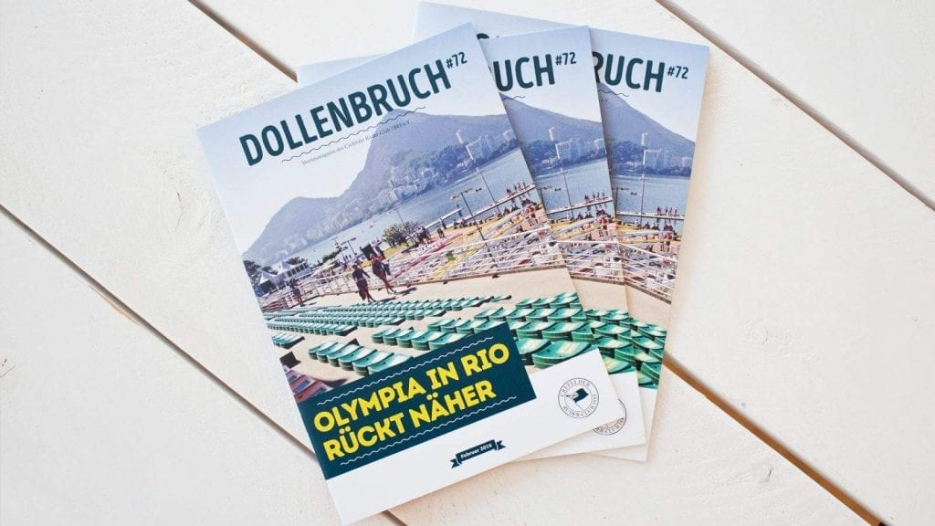 Dollenbruch – Crefelder Ruder-Club 1883 e.V. — Editorial Design / MAAANY Werbeagentur Krefeld
